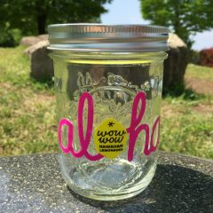 Maidon Jar Wide Mouth 16oz Pink