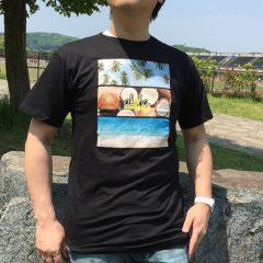 オリジナルTシャツ トロピカルブラック