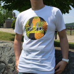 オリジナルTシャツ パイナップルホワイト